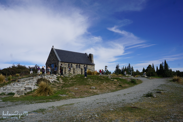 Iconic church in Lake Tekapo
