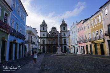 Pelourinho ancient town, Salvador
