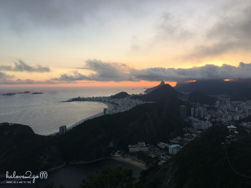 Sunset view from Sugarloaf