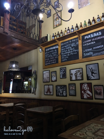 A restaurant in Lencois