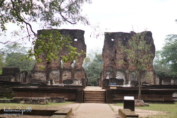 Royal Palace in Polonnaruwa