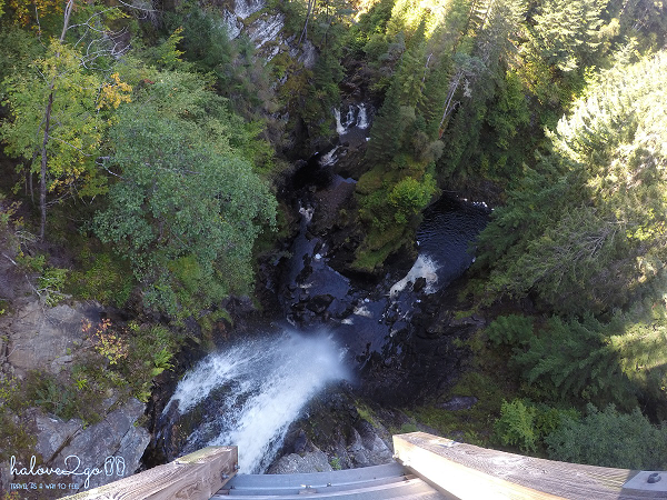 Plodda waterfall