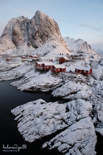 Ellissen Rorbuer hotel in Lofoten