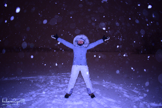 Me in snow storm