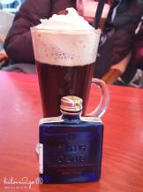 Denish coffee and my mini whisky