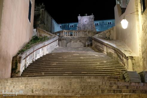 Cầu thang Jesuit về đêm