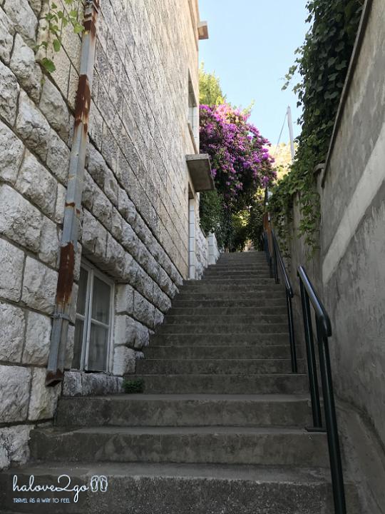 Bắt đầu với các bậc cầu thang