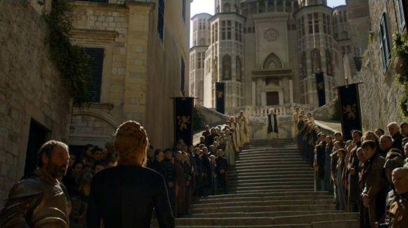 Cầu thang Jesuit trong phim