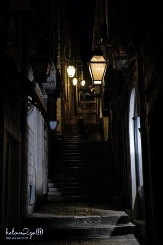 Hẻm nhỏ về đêm