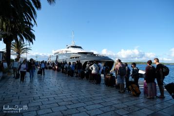 Tàu từ Hvar đi Split