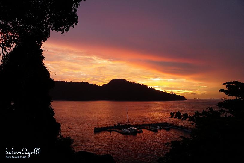 thien-duong-bien-dao-cua-malaysia-pangkor-laut-sunrise
